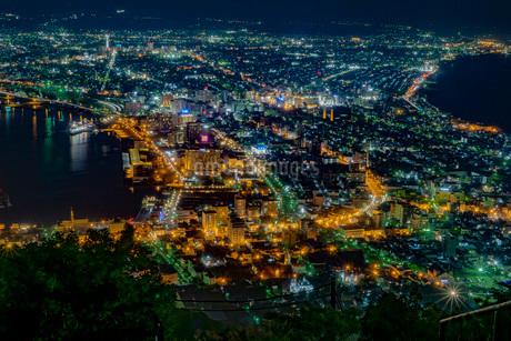 函館の夜景の写真素材 [FYI03449661]