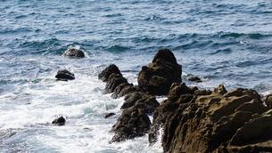 波が荒れている海の写真素材 [FYI03449664]