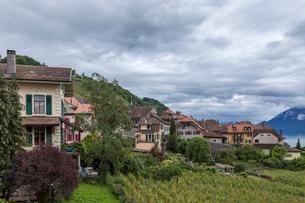 スイス、ラヴォー地区エペスの写真素材 [FYI03449866]