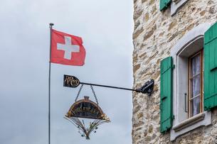 スイス、ラヴォー地区エペスの写真素材 [FYI03449867]