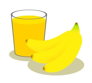 バナナジュースのイラスト素材 [FYI03450049]