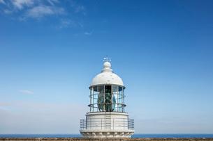 日本の風景、経ヶ岬灯台と日本の写真素材 [FYI03450093]