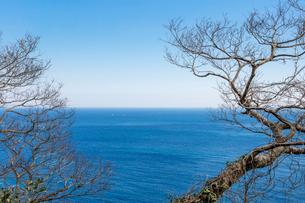 日本の風景、経ヶ岬からの日本海風景の写真素材 [FYI03450096]
