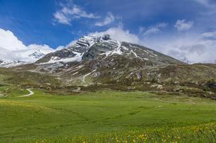 スイス、シンプロン峠の写真素材 [FYI03450187]