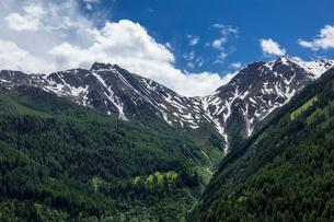 スイス、シンプロン峠の風景の写真素材 [FYI03450451]