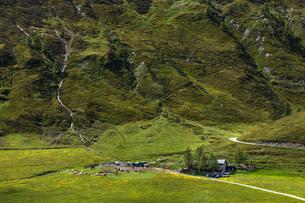 スイス、シンプロン峠の風景の写真素材 [FYI03450591]