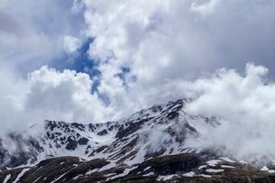 スイス、シンプロン峠からのスイスアルプスの写真素材 [FYI03450614]