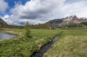 スイス、シンプロン峠の写真素材 [FYI03450667]