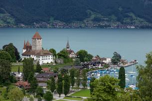 スイス、スピーツの風景の写真素材 [FYI03450714]
