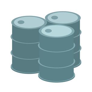 ドラム缶のイラスト素材 [FYI03451014]