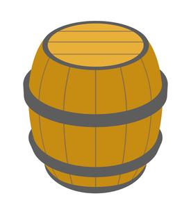 樽のイラスト素材 [FYI03451039]