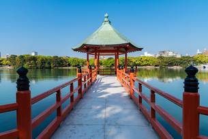 大濠公園浮見堂の写真素材 [FYI03451120]