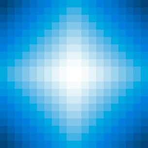 青いモザイクの背景のイラスト素材 [FYI03451209]