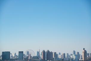 海の森公園からみた東京市街の写真素材 [FYI03451587]