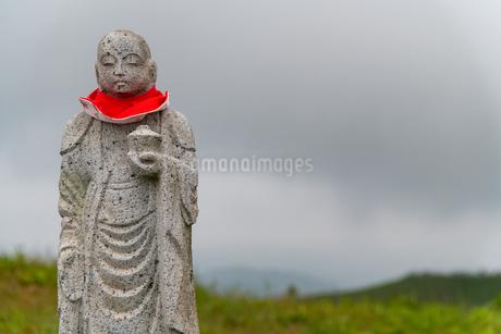 大室山の地蔵の写真素材 [FYI03451600]