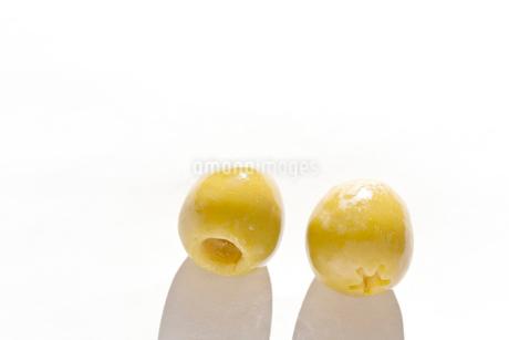 オリーブ 種なしの写真素材 [FYI03451919]