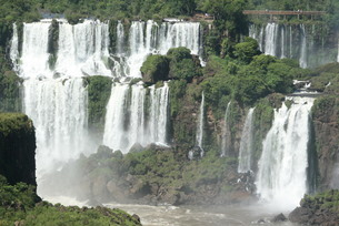イグアスの滝の写真素材 [FYI03452384]