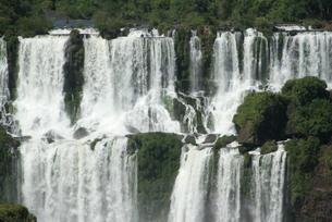 イグアスの滝の写真素材 [FYI03452385]