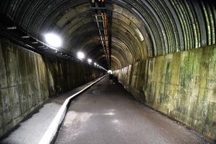 寸又峡の歩行者用トンネルの写真素材 [FYI03452498]