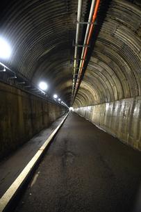 寸又峡の歩行者用トンネルの写真素材 [FYI03452500]