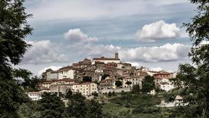 イタリア、トスカーナ、プラタの街並みの写真素材 [FYI03452568]