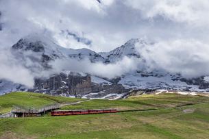 スイス、ユングフラウ鉄道の写真素材 [FYI03452575]