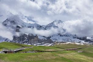 スイス、ユングフラウ鉄道の写真素材 [FYI03452576]