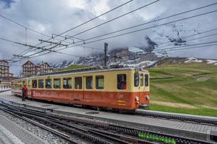 スイス、ユングフラウ鉄道の写真素材 [FYI03452725]