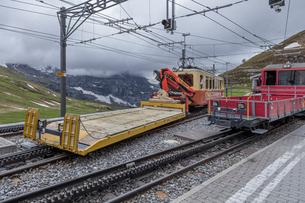 スイス、ユングフラウ鉄道の写真素材 [FYI03452726]