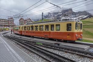 スイス、ユングフラウ鉄道の写真素材 [FYI03452728]