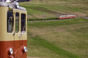 スイス、ユングフラウ鉄道の写真素材 [FYI03452729]