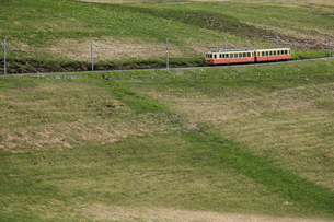 スイス、ユングフラウ鉄道の写真素材 [FYI03452730]