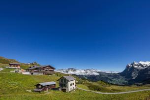 スイス、クライネシャイデックの風景の写真素材 [FYI03452746]