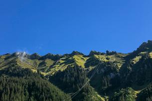 スイス、オーバーラント、ヴェンゲンの風景の写真素材 [FYI03452766]