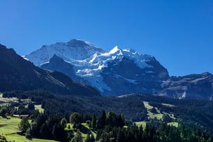 スイス、ヴェンゲン・ユングフラウの写真素材 [FYI03452786]