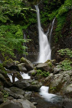 裏見の滝(栃木県日光市)の写真素材 [FYI03452872]
