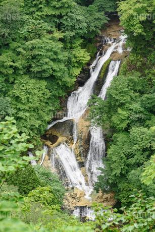 霧降の滝(栃木県日光市)の写真素材 [FYI03452879]