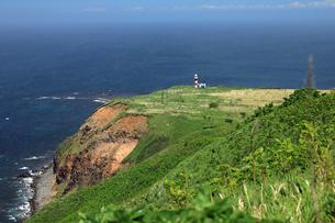 6月 天売島灯台の写真素材 [FYI03453079]