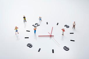 子供の時間管理イメージの写真素材 [FYI03453636]