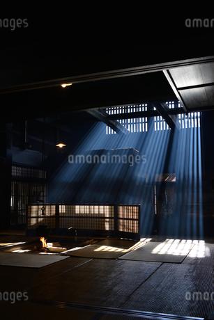 妻籠宿脇本陣 囲炉裏の写真素材 [FYI03453908]