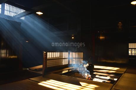 妻籠宿脇本陣 光の写真素材 [FYI03453919]
