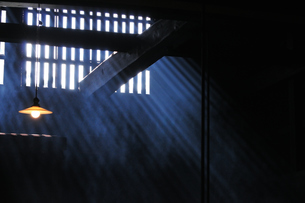 妻籠宿脇本陣 囲炉裏の写真素材 [FYI03453943]