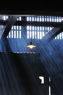 妻籠宿脇本陣 光の写真素材 [FYI03453944]