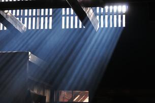 妻籠宿脇本陣 光の写真素材 [FYI03453948]