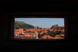 クロアチア ドブロブニク 旧市街の写真素材 [FYI03453971]