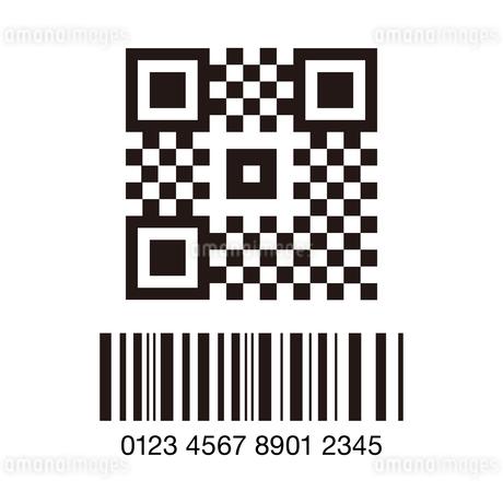 QRコードのアイコンイラスト素材のイラスト素材 [FYI03454096]