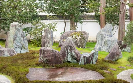 重森三玲邸の書院前庭の写真素材 [FYI03454577]