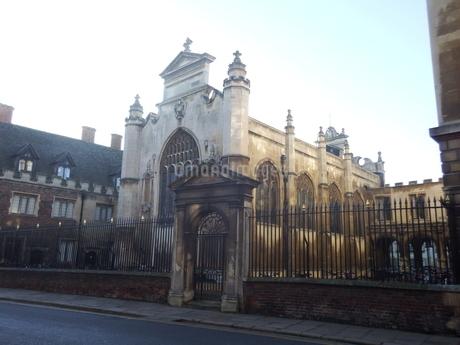 ケンブリッジの大学キャンパスの写真素材 [FYI03454742]