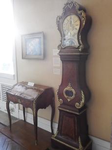 ケンブリッジ 美術館の古時計の写真素材 [FYI03454747]