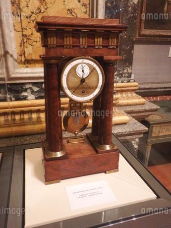 ケンブリッジ 美術館の古時計の写真素材 [FYI03454748]